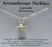 Aromatherapy Necklace Lavender Relaxation Zorbitz Inc.